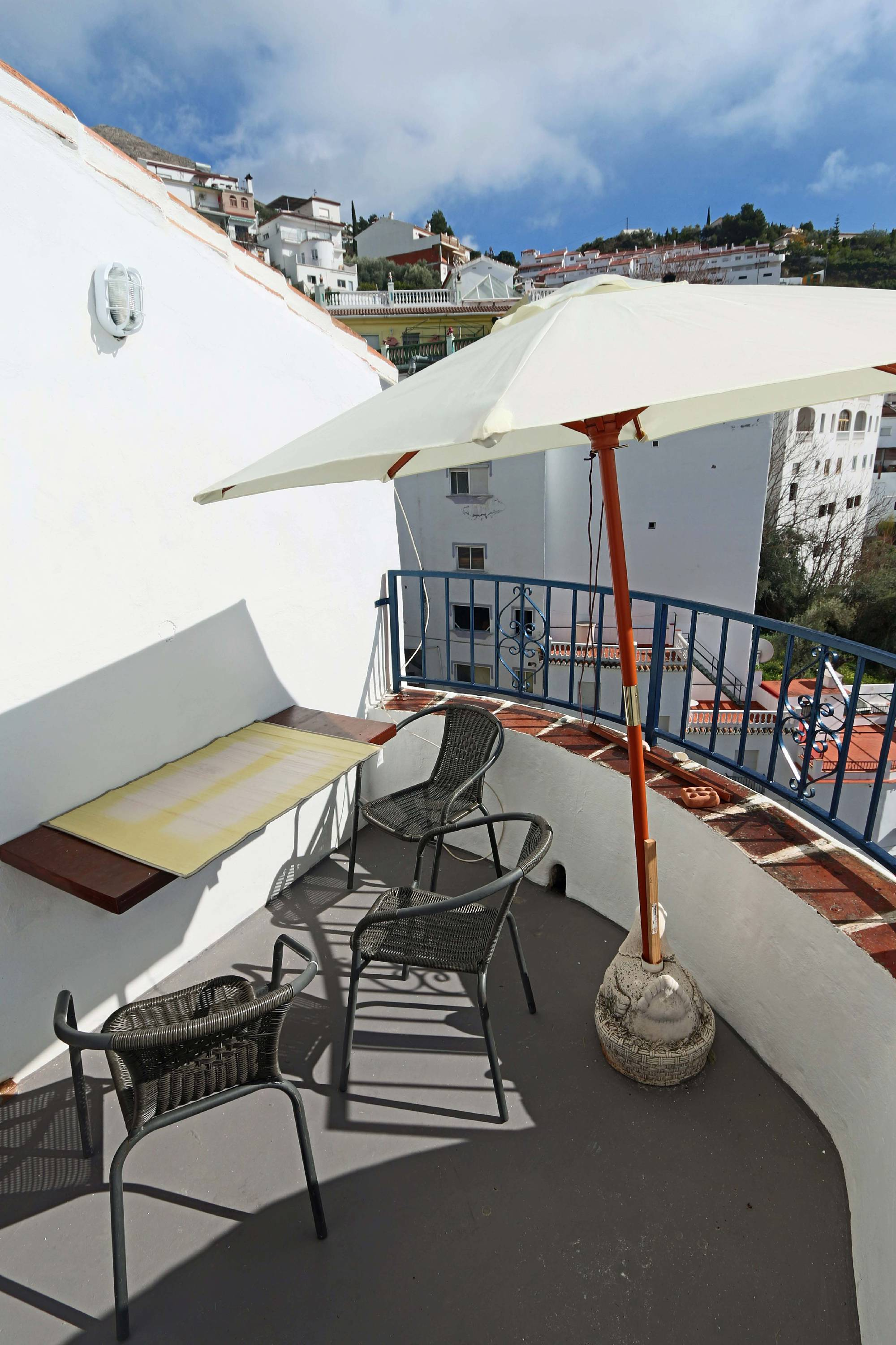 Holiday in Spain Costa del Sol village town for holiday rental