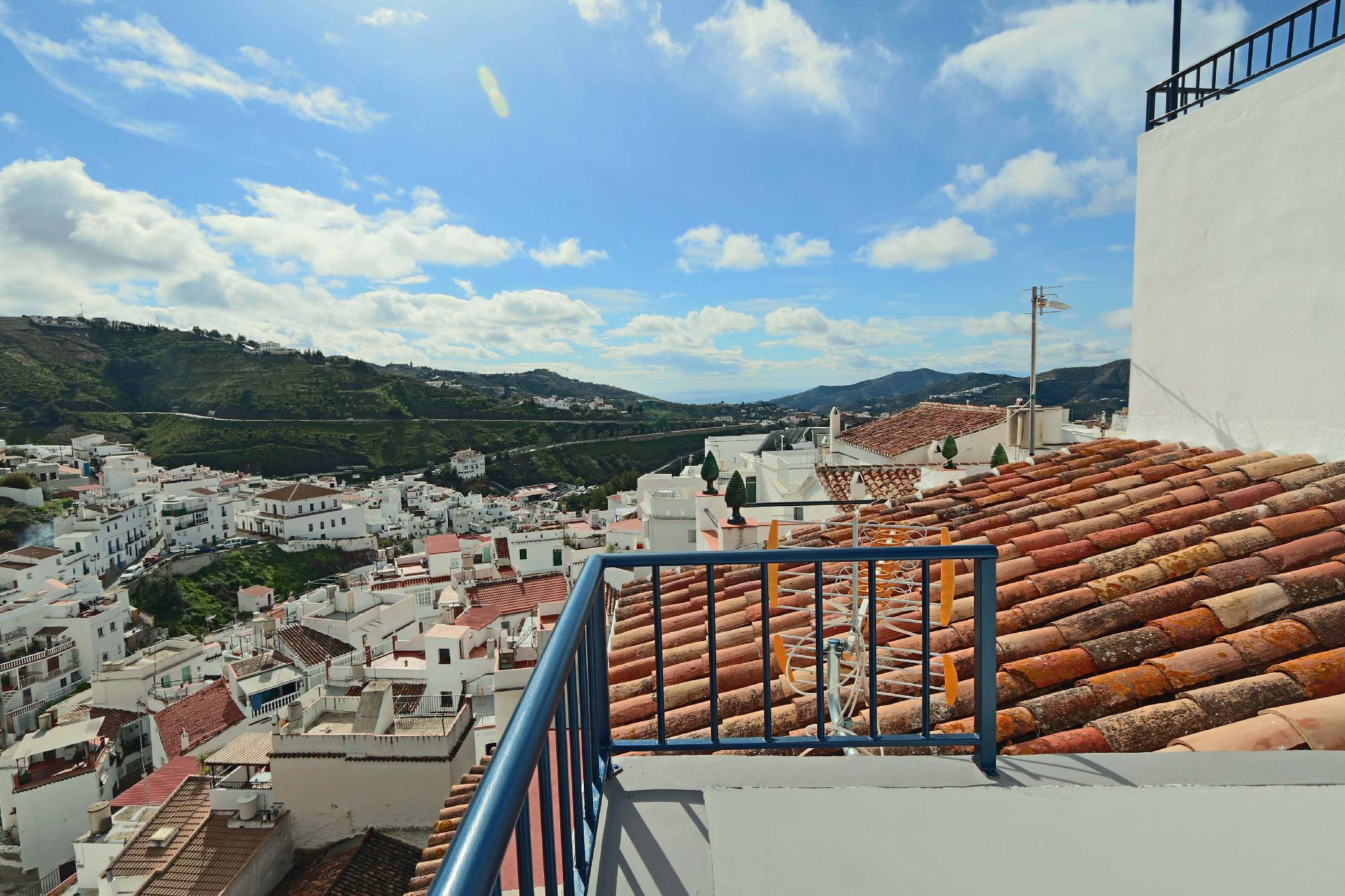 Holiday in Spain Competa, Costa del Sol village town for holiday rental